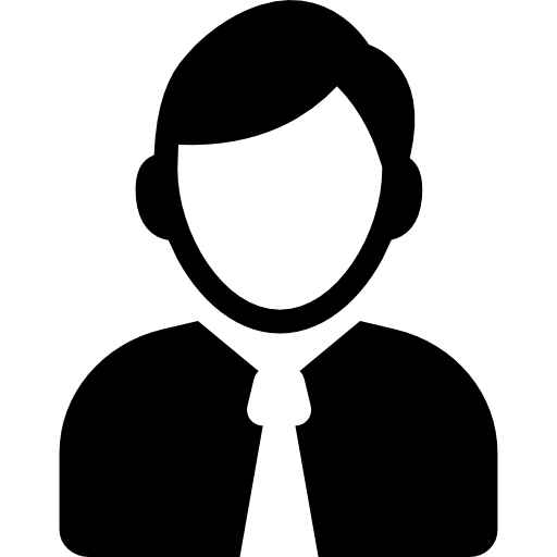 office-worker-outline