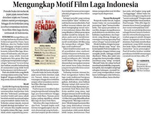 Kukuh Yudha Karnanta Mengungkap Motif Film Laga Indonesia