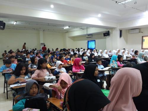 Pembukaan Kelas Literasi Menulis dan Mendongeng